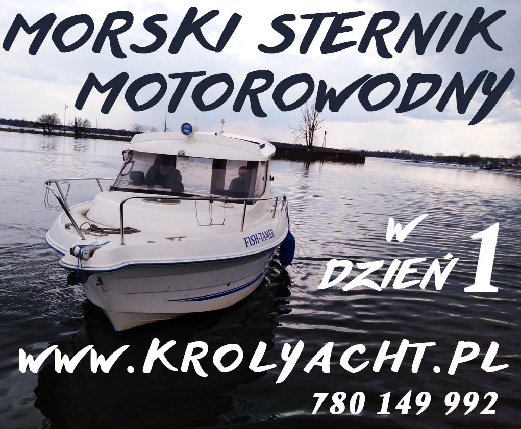 Morski Sternik motorowodny, kursy motorowodne w jeden dzień